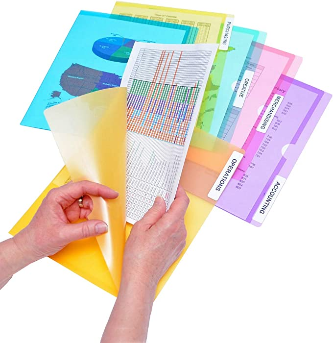 Top 10 Office Supplies Slash Pocket Folder