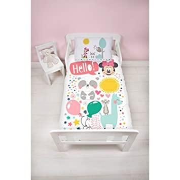 Minnie Mouse Junior Housse de Couette, Multicolore,