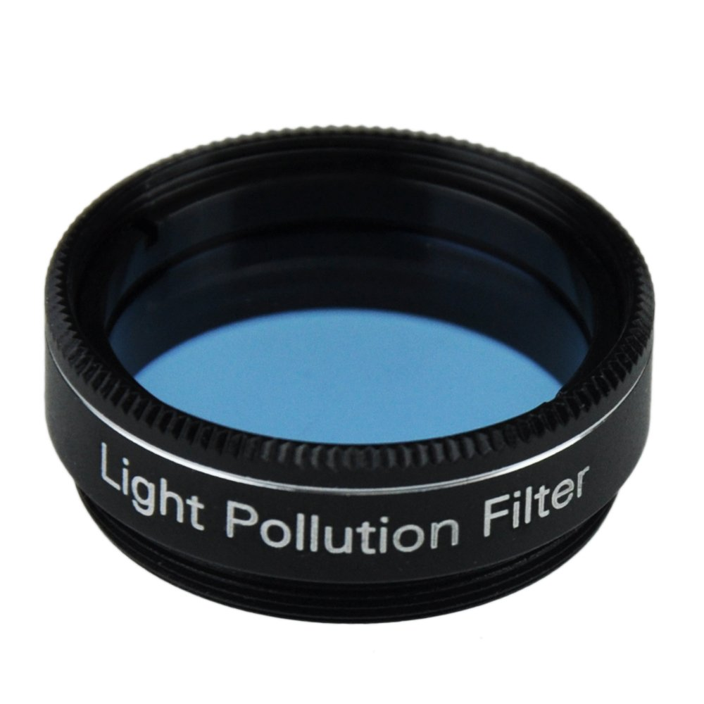 Gosky 1.25 Inch Light Pollution Filter for Telescope by Gosky