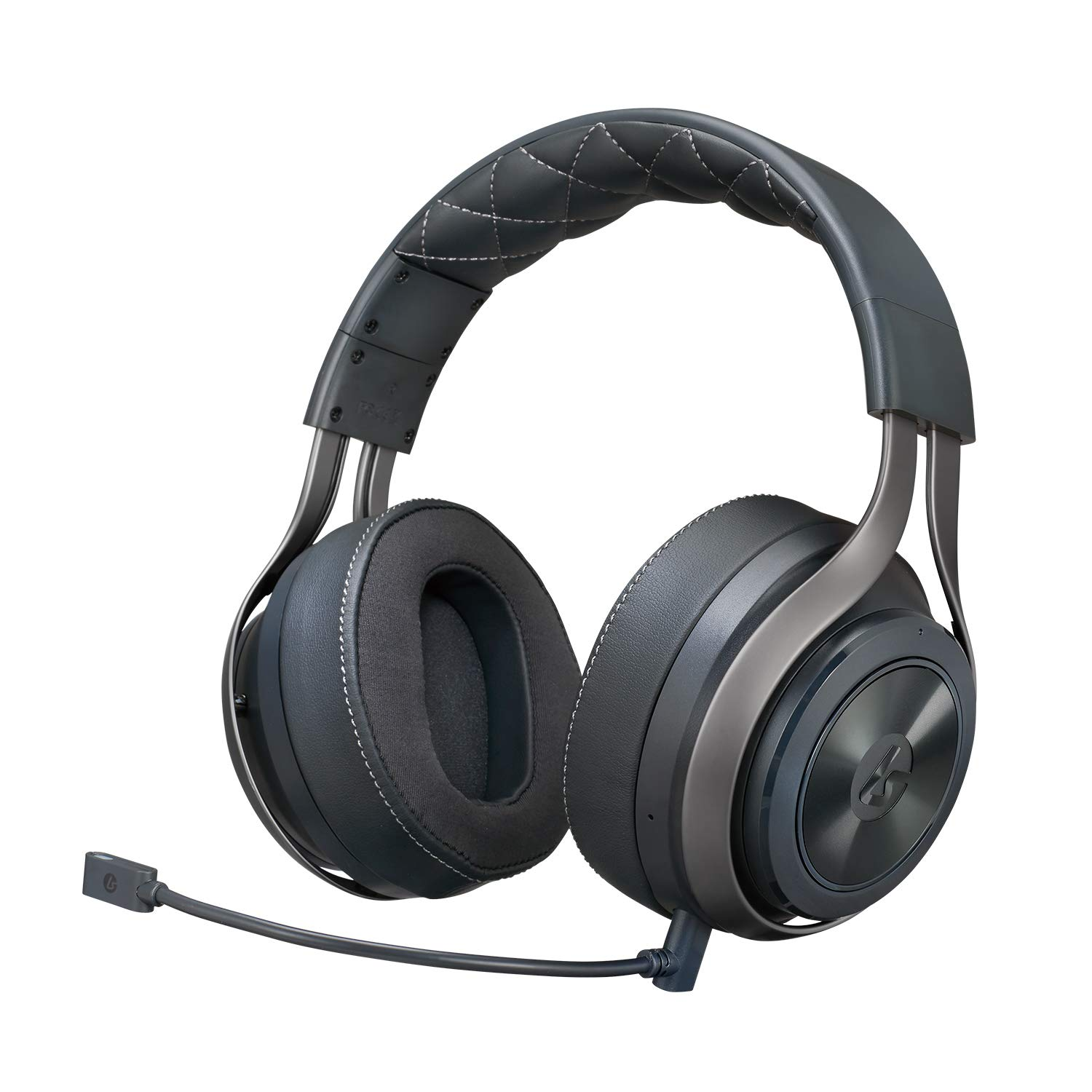 A wireless gaming headset with removable mic and 20 hours of battery life