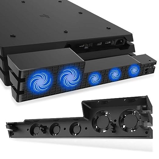 Buy Microware PS4 Pro Cooler, USB External 5-Fan Super Turbo