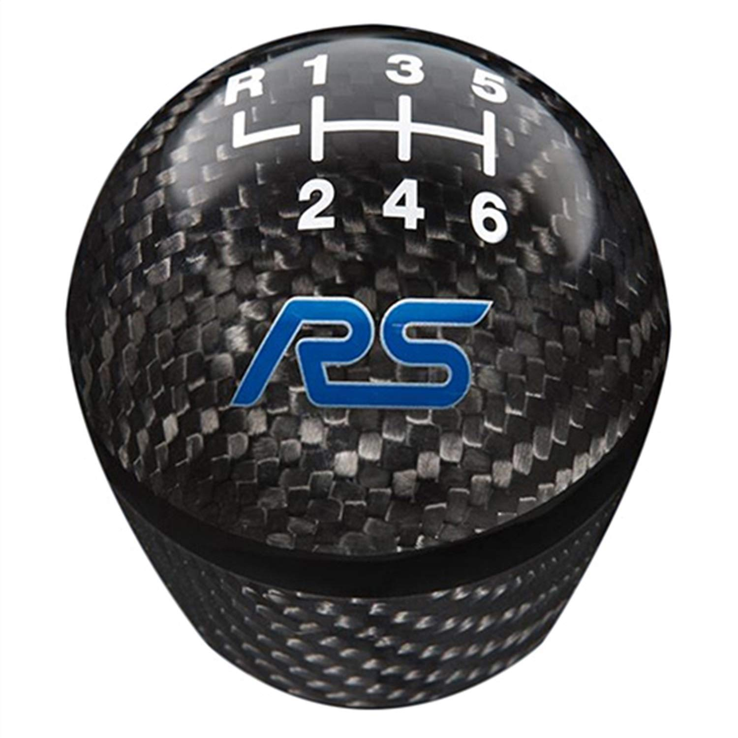 FOCUS RS SHIFT KNOB-CARBON FIBER, 6 SPEED by FORD PERFORMANCE (Image #1)