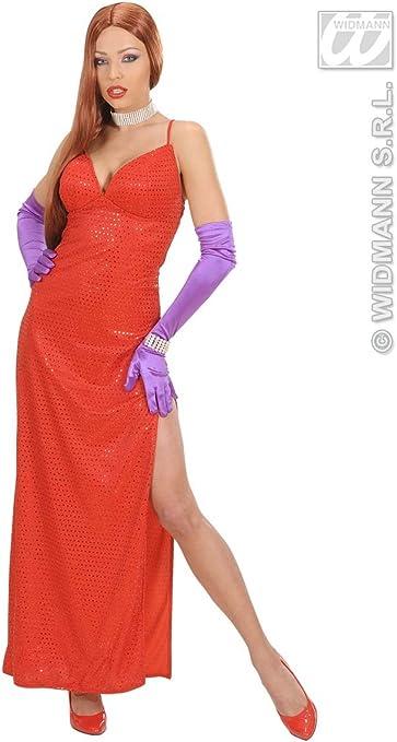 WIDMANN WID58921 ? Disfraz para adultos de femme fatale, rojo, S ...