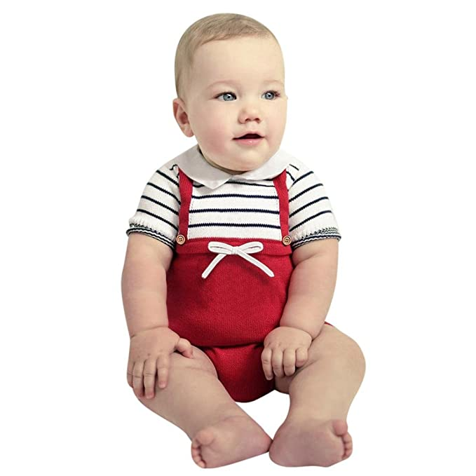 d6381698110a Amazon.com  Toddler Baby Girls Boys Clothes Sets for 0-24 Months ...