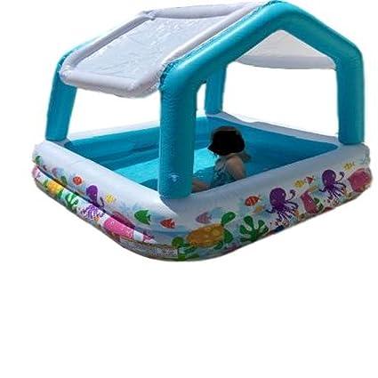 Amazon.com: GT piscina inflable con sombra para niños ...