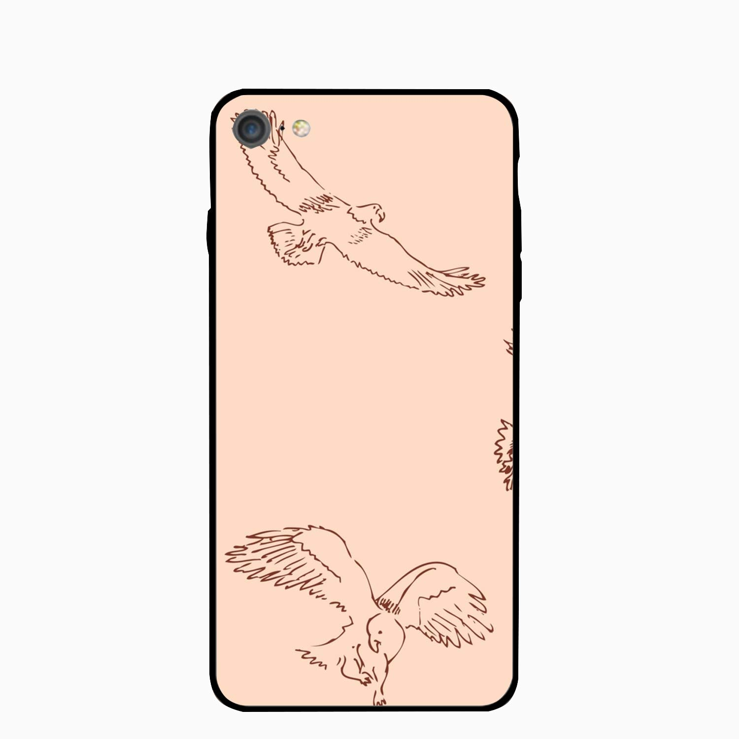 Amazon com eagles sketch pencil drawing iphone 6s case for girlsiphone 6 casehard pc case anti slip protective cover for iphone 6 6s 4 7 cell phones