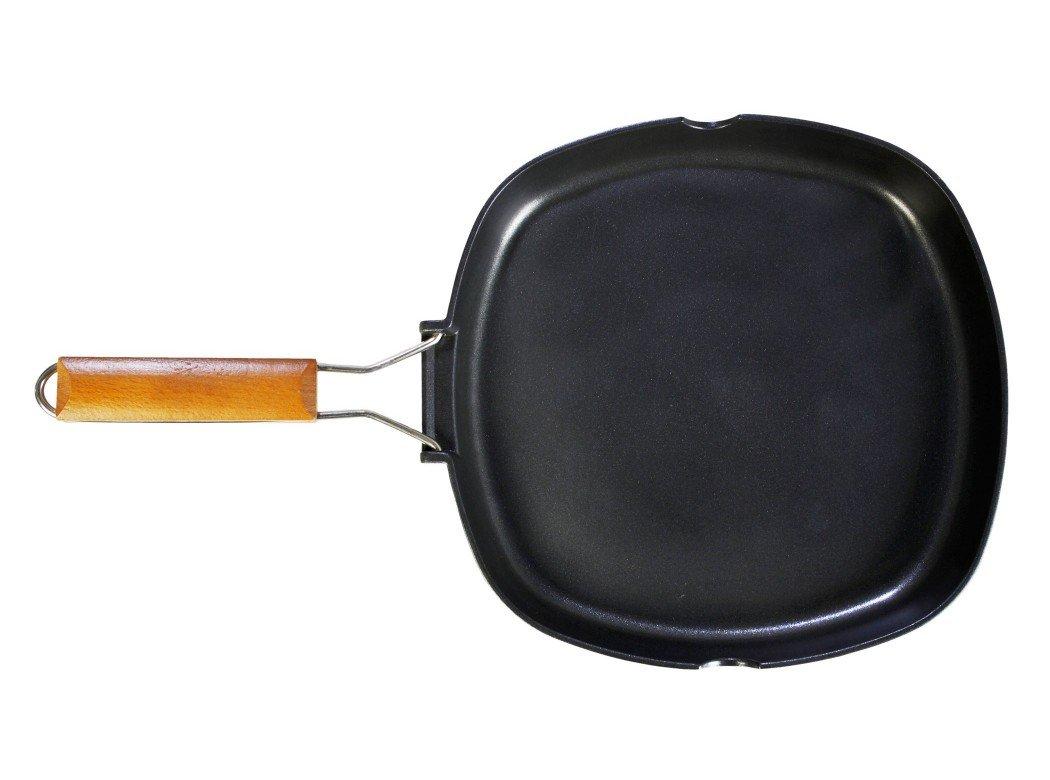 WeCook 11000 Sarten Grill Antiadherente Induccion Vitrocerámica y Fogón, Aluminio, 28 cm, Sin PFOA ni BPA: Amazon.es: Hogar