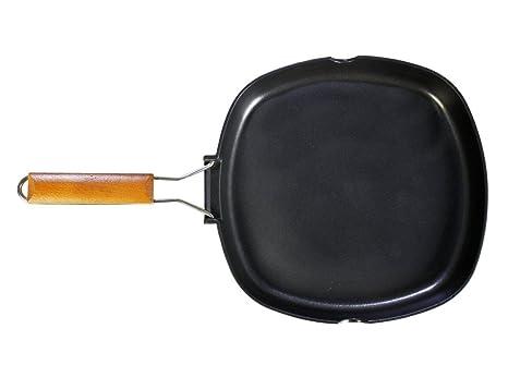 WeCook 10900 Sarten Grill Antiadherente Induccion Vitrocerámica y Fogón, Aluminio, 24 cm, Sin PFOA ni BPA: Amazon.es: Hogar