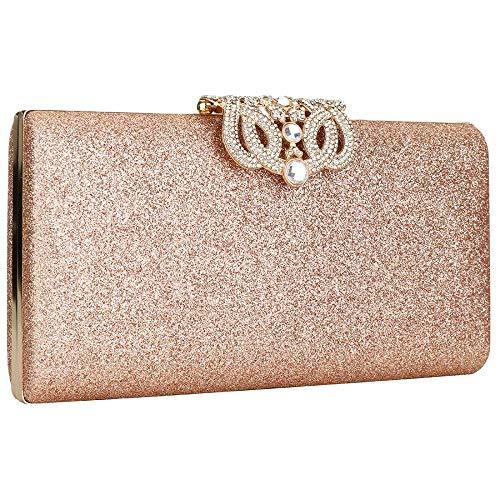 Mujer Rose Bolsa Noche Y Yyw De Ssmky266012 Clutch Color Gold Ygqt0
