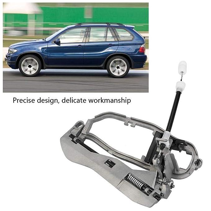 Keenso Car Exterior Door Handle Carrier Bracket for BMW X5 E53 1999-2006 Front Right Side Doors 51218243616 BMW X5 E53 Door Handle Carrier