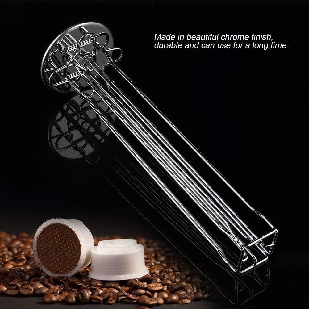 Cocina o Sala de Oficina Carrusel Espresso para 40 C/ápsulas Carrusel de Soporte para Bastidor de C/ápsulas de Caf/é Ideal para Uso en el Hogar
