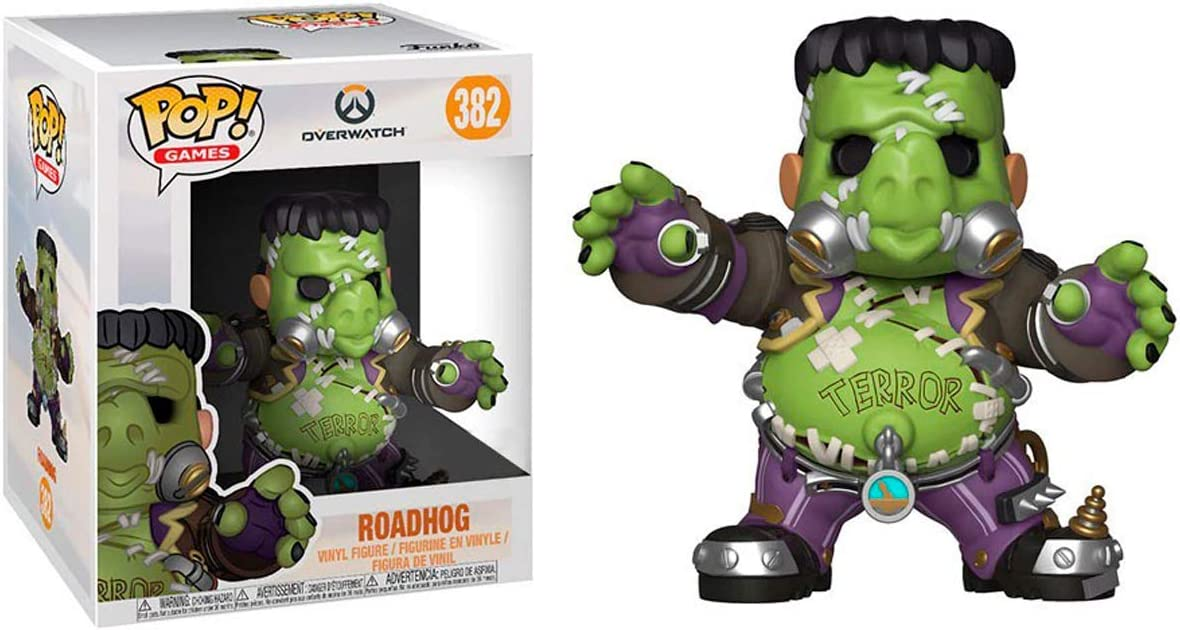 Pop! Overwatch S4 - Junkenstein Monster 15 CM (Exclusive): Amazon ...