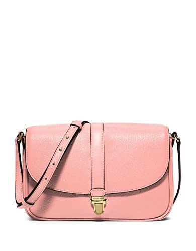 0778fbf80d09a9 MICHAEL Michael Kors Charlton Large Crossbody (Pale Pink): Handbags ...