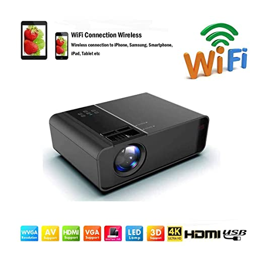Proyectores WiFi /Mini proyector de video LED Full HD-8000 ...