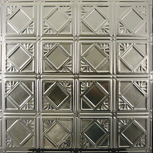 Tin Ceiling Tile 119 Unfinished