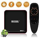 Sidiwen MECOOL M8S PRO W Android 7.1.2 TV Box with Innovative Voice Remote 2GB RAM 16GB ROM Amlogic S905W Quad Core Smart Set Top Box Support 2.4G WIFI Ethernet 3D 4K UHD OTA Internet Media Player