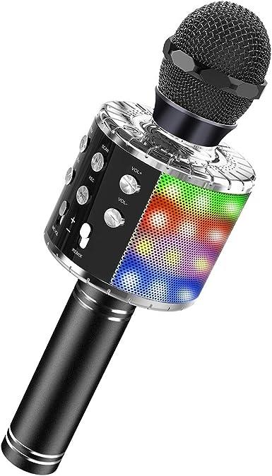 DEDY Bluetooth Wireless Karaoke Microphone Best Gifts
