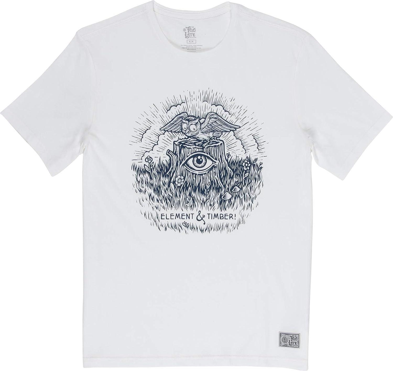 Element Camiseta para Hombre Too Late Stump - Algodón Hombre ...