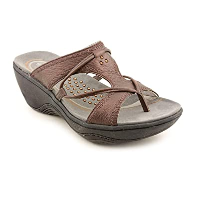 30fbe1c8024d Clarks Privo By Canistel Open Toe Slides Sandals Shoes Womens   Amazon.co.uk  Shoes   Bags