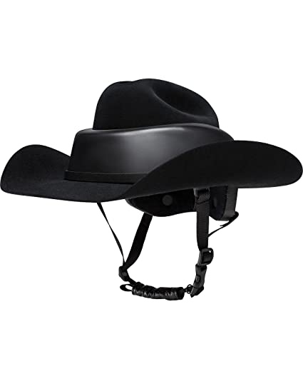 e4e9a16bb Amazon.com: RESISTOL RideSafe Western Hat Helmet: Sports & Outdoors