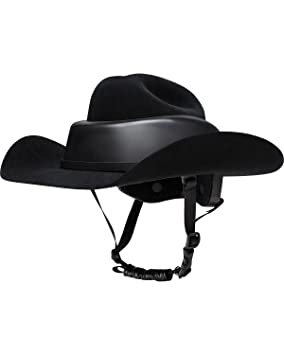 Amazon.com: RESISTOL RideSafe Western Hat Helmet: Sports ...
