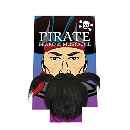 20efffcbeb8 Amazon.com  Pirate Beard and Mustache  Toys   Games