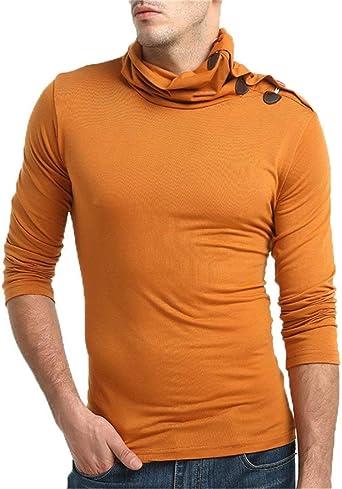 Camisa De Manga Larga De Estilo Único para Hombre Camiseta ...
