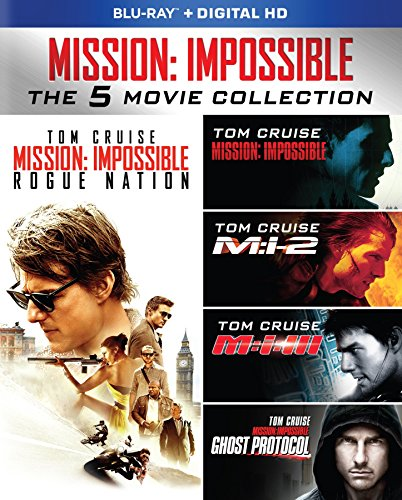 Mission: Impossible: The 5 Movie Collection [Blu-ray] -  Rated PG-13, Multiple, Tom Cruise
