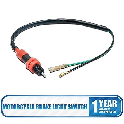 Interruptor de luz de freno universal para motocicleta de la marca Maso