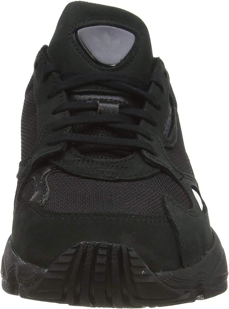 adidas Falcon W, Zapatillas de Deporte para Mujer, Negro Negbás ...