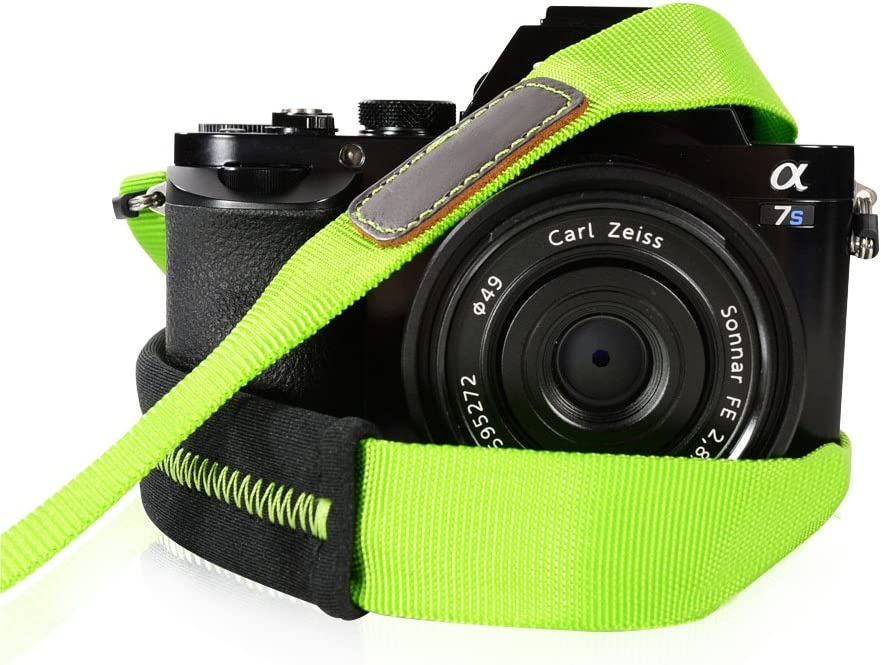 Foto/&Tech High Elastic Decompression Anti-Slip Neoprene//Silicone Camera//Shoulder//Grip Neck Strap Belt Compatible with Nikon Camera