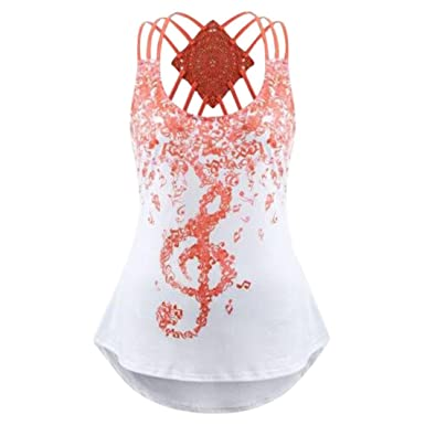 d322107672092 PLOT Ladies  Bandages Sleeveless Cross Strap Vest Top