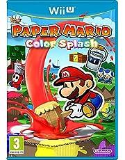 Paper Mario Color Splash Wii U Game