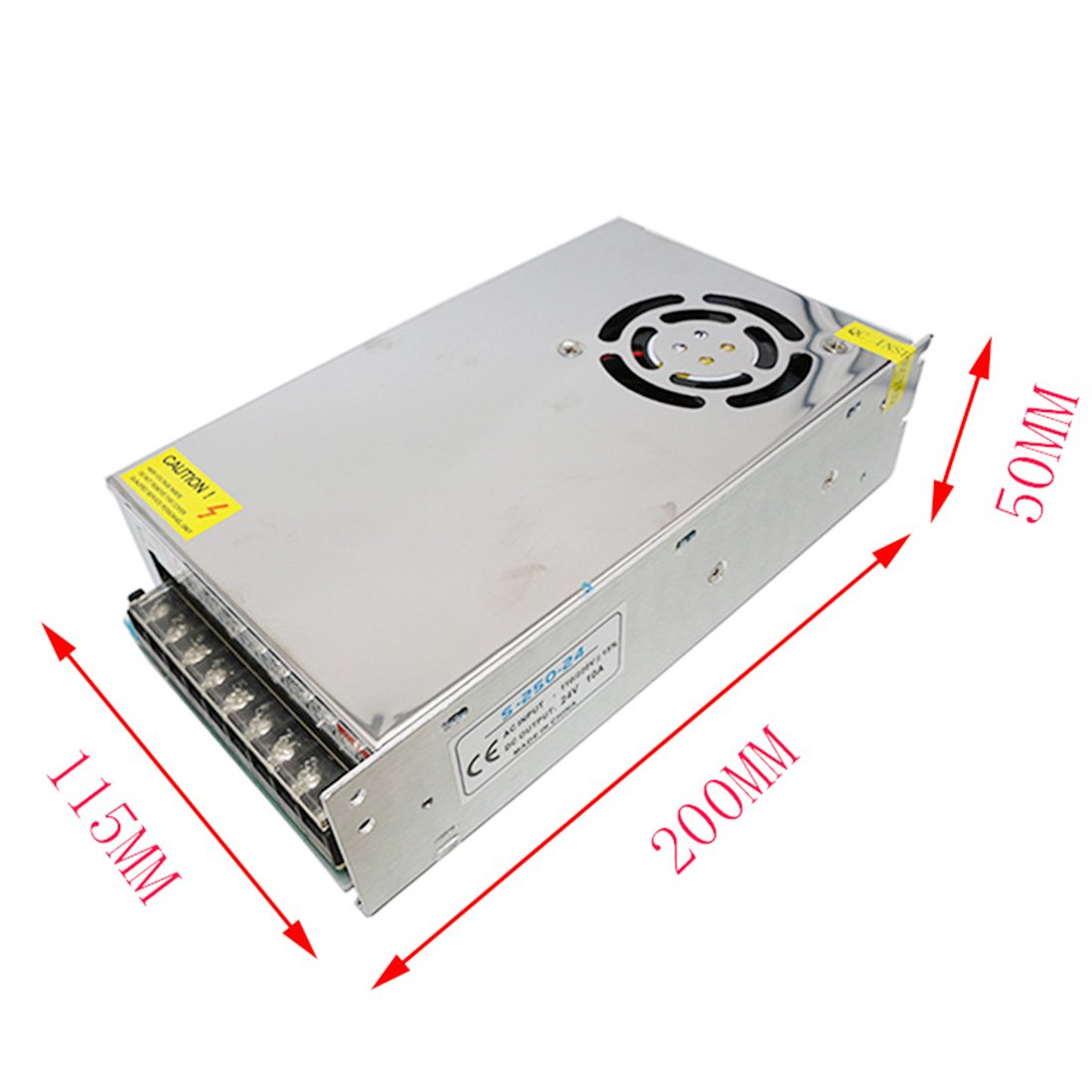 Amazon com: NC XQIN 24V Power Supply, 24V 10A 240W AC to DC