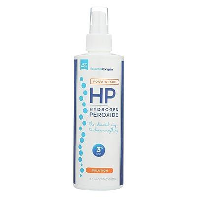 Essential Oxygen 3% Food Grade Hydrogen Peroxide 8 OZ