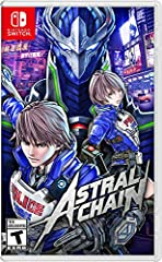ASTRAL CHAIN is a new action game from PlatinumGames, directed by Takahisa Taura, known for his work as the game designer on NieR:Automata, and supervised by Hideki Kamiya, creator of the Bayonetta series.