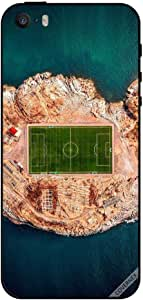 Case For iPhone 5s Football Ground In Mid Of Sea