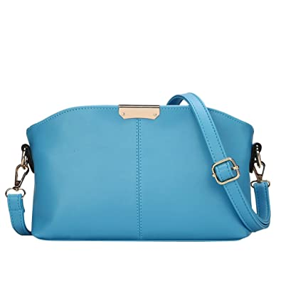Femme Style Sac Bandoulière LaoZan Main Epaule À Ciel Vintage Bleu Sac ZwSgd