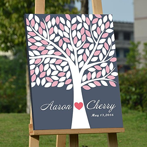 custom wedding guest book - 1