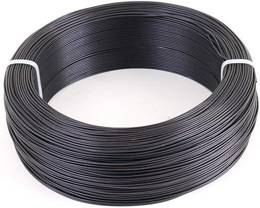 29 m Marron mat Bonsai Fil en aluminium 4 mm 1 kg env