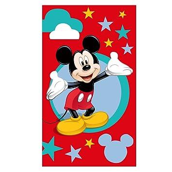 Toalla de Playa | 70 x 120 cm | Disney Mickey Mouse | Niños Toalla de Baño: Amazon.es: Juguetes y juegos