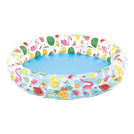 Intex 59421NP - Just So Fruity Piscina hinchable, 2 aros, 122 x 25 cm