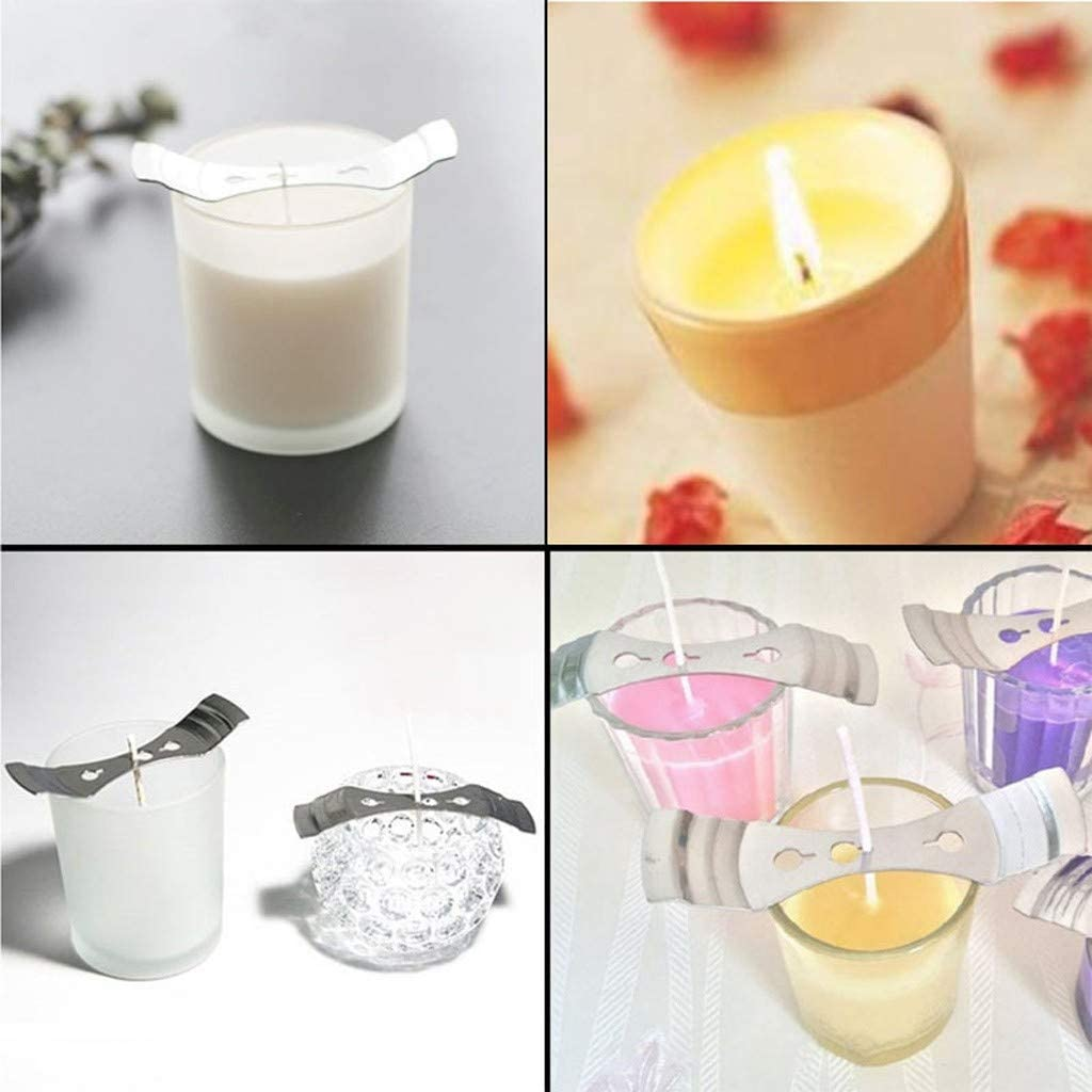 White 100 Piece Cotton Candle Wick 6 Pre-Waxed Candle Core for Candle Making Candle DIY Environmentally Friendly Premium 100/% Natural Cotton Candle Cores for Soy Beeswax Candle Making