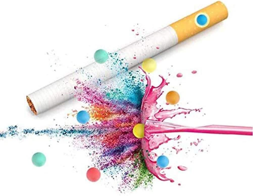Gobbuy Mezclar CÁPSULAS AROMÁTICAS de Sabor, CÁPSULAS AOMÁTICAS de mentol, Filtros de Cigarrillos de cápsula de Bola de Perlas de explosión de Bricolaje, Sabor Mixto