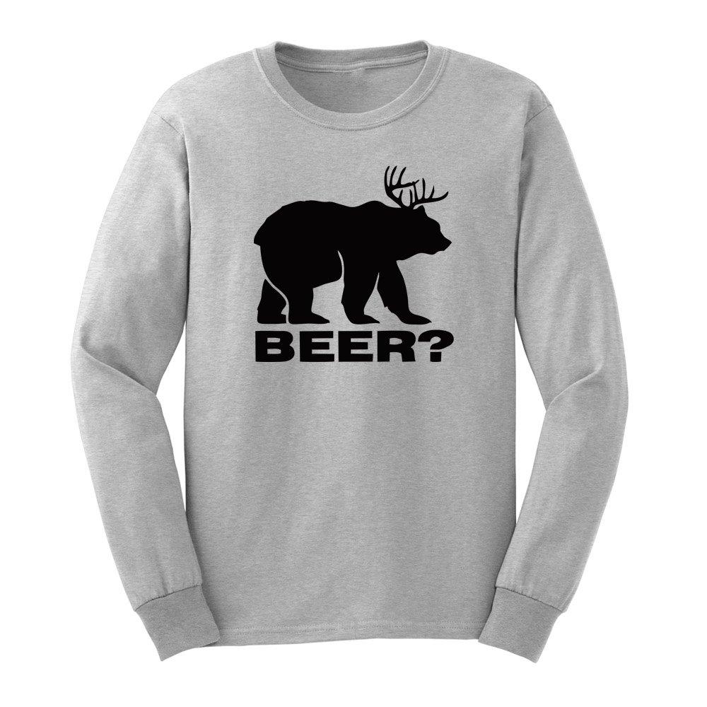 Loo Show Spapa Beer Bear Adult T Shirts Casual Tee