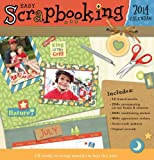 Easy Scrapbooking 2014 Calendar by