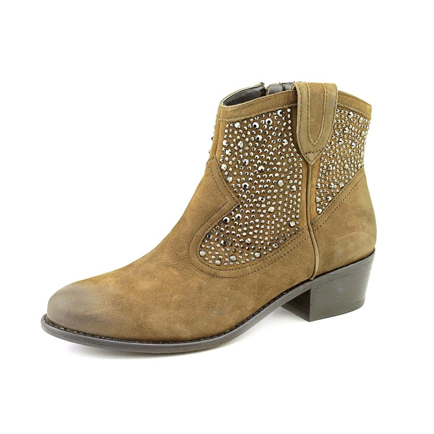 INC International Concepts Womens Booties Size 6.5 US Medium (B, M) Solid Olive