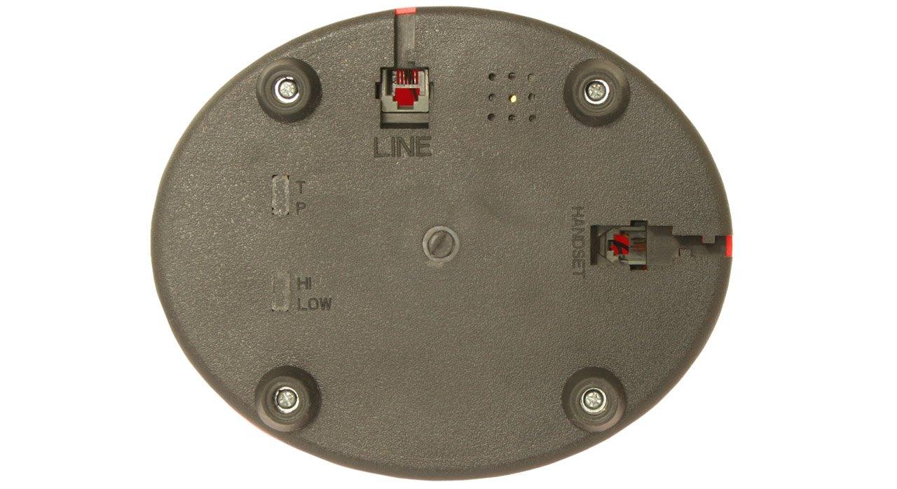 OPIS 1921 Cable Modelo A t/élefono Retro//telefono Fijo Vintage de Madera y Metal con Disco de marcar y Campana met/álica