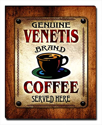 ZuWEE Venetis's Coffee Family Name Gallery Wrapped Canvas Print