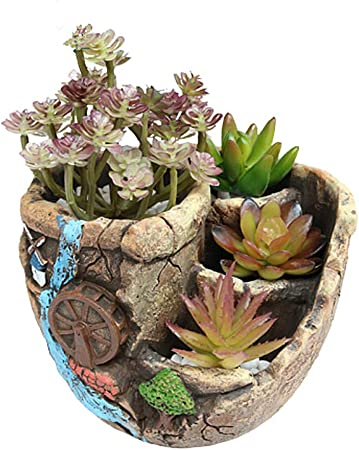 KUOZEN Macetas Plastico Grande Macetas Plastico Jardín de macetas al Aire Libre Semillas de ollas Macetas La Planta Olla Planta de Marihuana c: Amazon.es: Hogar